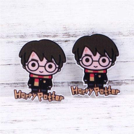 5 X 35MM NEW HARRY POTTER LASER CUT FLAT BACK RESIN HEADBANDS HAIR BOWS CARD MAKING